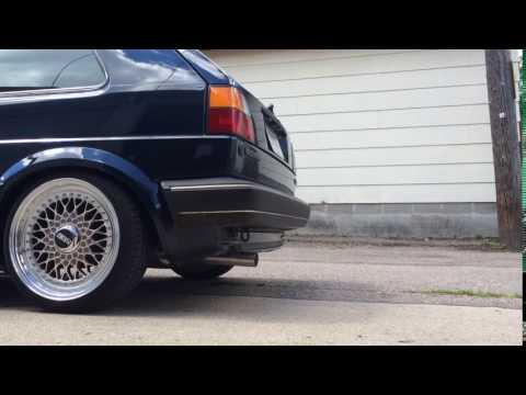 VW Golf 2 1.8 8v exhaust