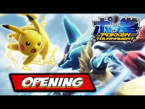 Pokkén Tournament - Opening CGI Movie Intro