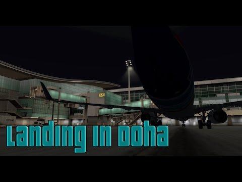 Prepar3D - Twitch Highlight - Landing In Doha
