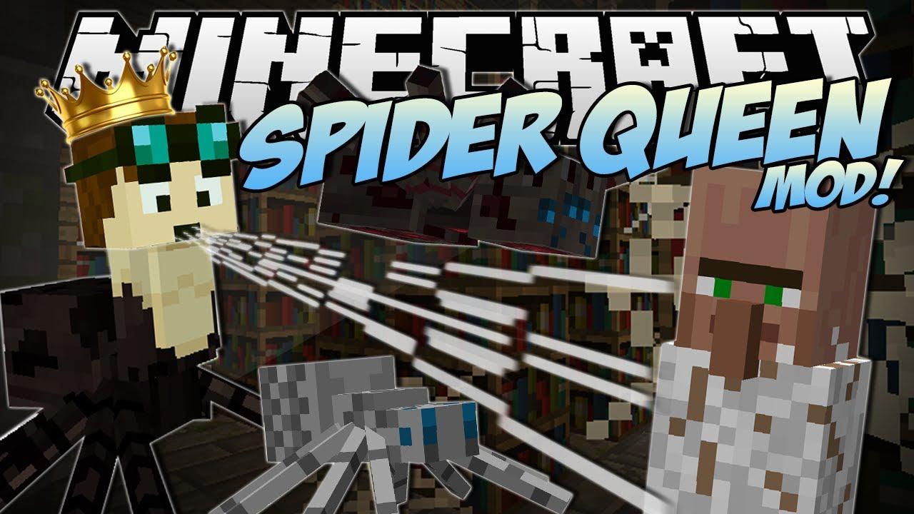 minecraft spider queen mod download for mac
