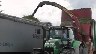 Hawe Suw 4000 im Einsatz mit LU Jackl bei GPS Ernte Juli 2013 im Eichsfeld