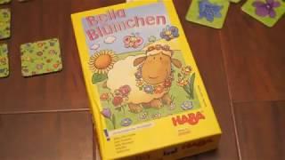 Настольная игра Бэлла-цветочек от HABA