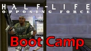 Half Life Opposing Force Chapter 00 Boot Camp [Longplay] [PC] [1080p]