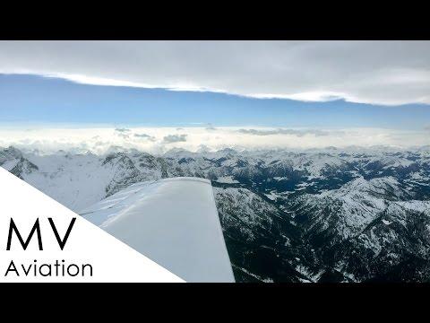 Landing with 25 kts crosswind - Mooney in Zell am See LOWZ