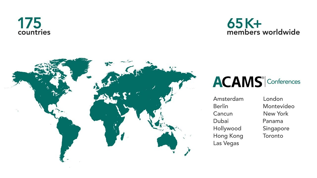 ACAMS - Association of Certified Anti-Money Laundering Specialists