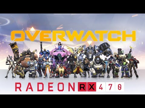 Overwatch - RX 470 - i5 6500 | FPS Test - Epic - 1080p