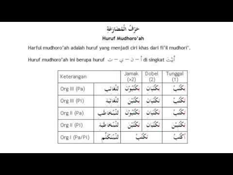 materi 17 dhomir (kata ganti) , belajar bahasa arab, nahwu shorof brain aldilas from YouTube · Duration:  13 minutes 55 seconds