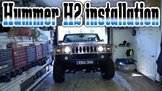 Video The Hummer H2 make over car stereo installation download MP3, 3GP, MP4, WEBM, AVI, FLV Februari 2018