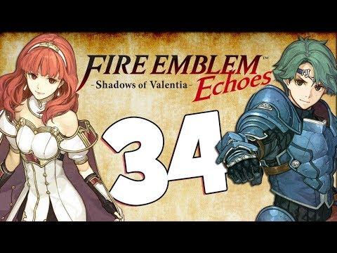 [LIVE] Fire Emblem Echoes Part 34 Fear Mountain Witch hunt