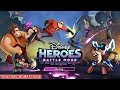 Disney Heroes Battle Mode Android iOS Gameplay (By Perblue)