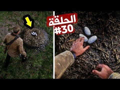 مغامرة سرقة بيض التمساح النادر تختيم ريد ديد ريدمبشن 2 الحلقة 30 | RDR II Alligator's Eggs