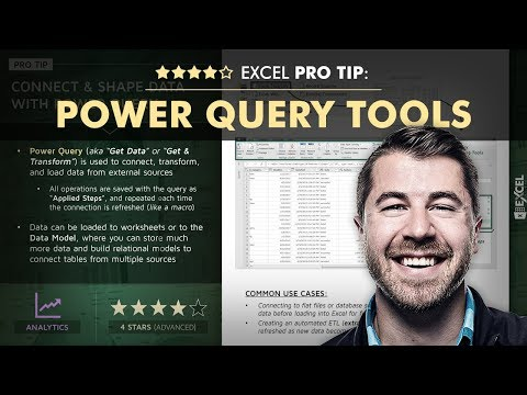 EXCEL PRO TIP: Connect & Transform With Power Query