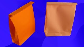 як зробити паперовий пакет своїми руками