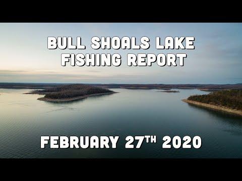 Bull Shoals Lake | Late February Fishing Report | Del Colvin