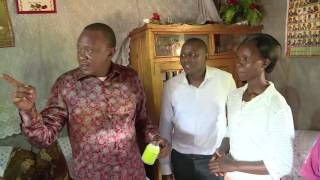UHURU SURPRISES A FAMILY IN KIAMBU