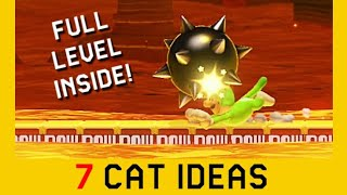 7 Cat Ideas - Part 2 | Super Mario Maker 2