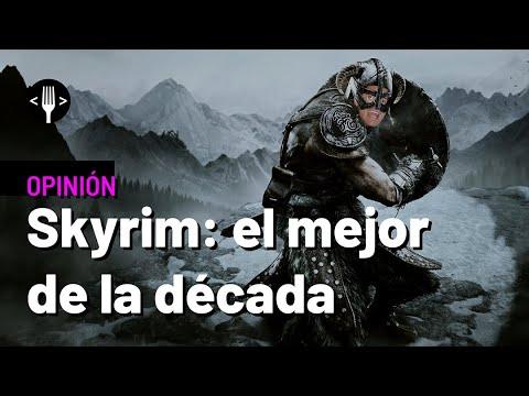 Skyrim es el mejor juego de la década