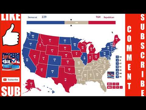 The Electoral Map If Primary Turnout Was the Electorate