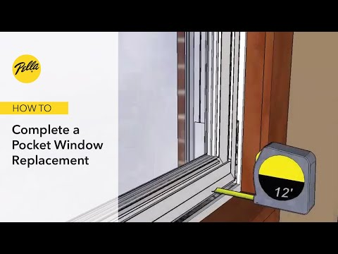 Pocket Window Replacement for Casement Windows