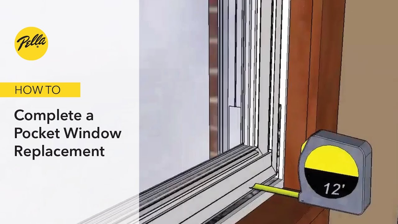 Pocket Window Replacement For Cat Windows
