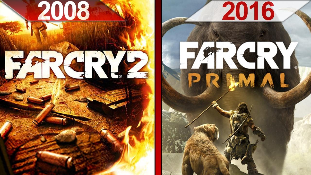 Sbs Comparison Far Cry 2 2008 Vs Far Cry Primal 2016