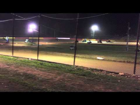 OCRS west Siloam A Feature from pit stands part 1 of 2, Brett Wilson 5/15/15