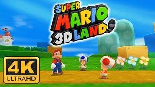 Super Mario 3D Land 4K Gameplay | Citra Emulator