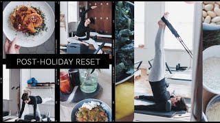 a day in the life post holiday reset ad the anna edit