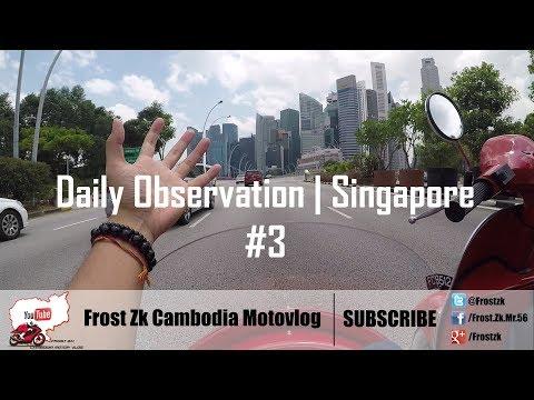 RIDING AROUND SINGAPORE ON A VESPA