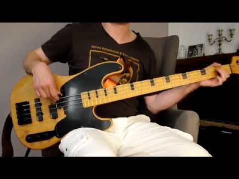 interstate love song bass cover