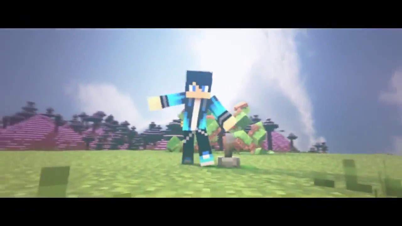 download intro minecraft animation no text