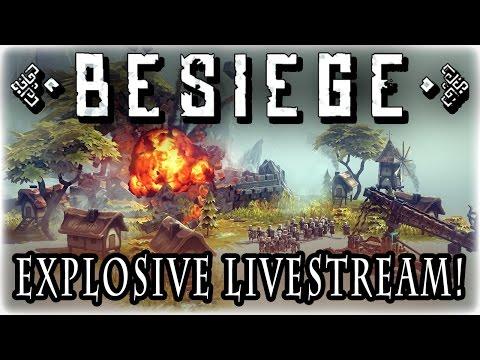 Medieval Madness! - Besiege - A FiZone Livestream