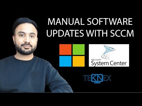 Part 23 - Manual Software Updates With SCCM Through Software Update Point