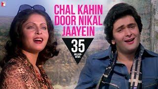 Chal Kahin Door Nikal Jaayein Song HD चल कहीं दूर निकल जाएँ Doosara Aadmi Kishore Lata
