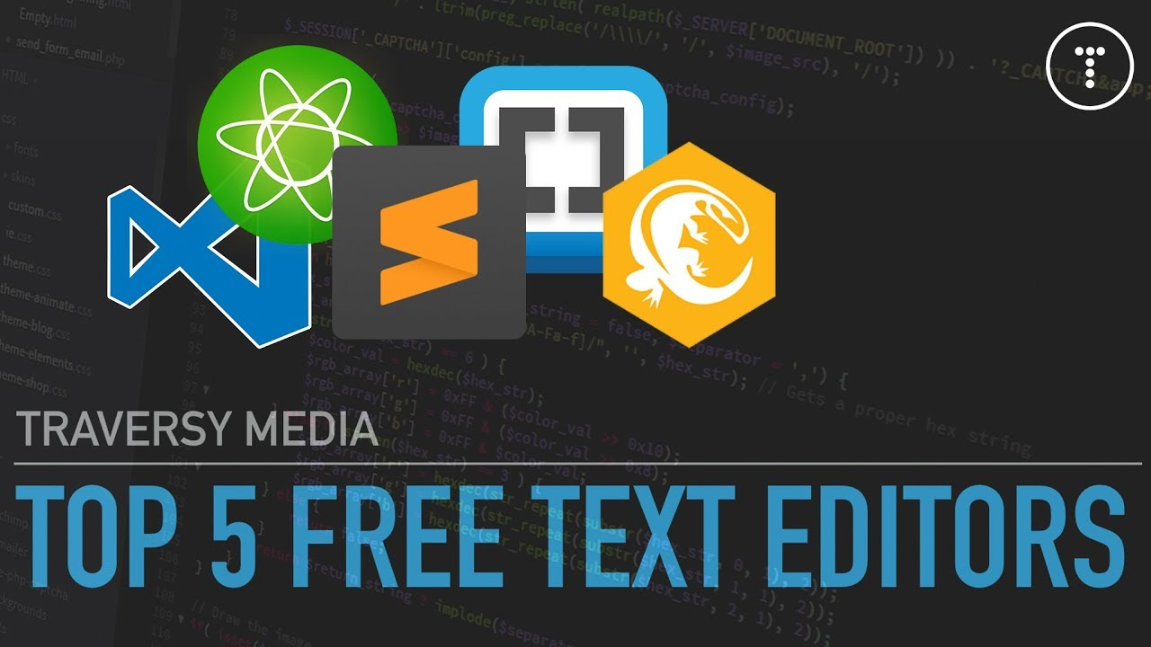 My Top 5 Free Text Editors For Web Development