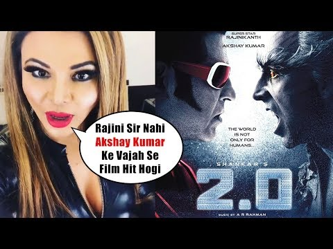 Rakhi Sawant's SH0CKING REACTION on Robot 2.0 Movie Says It will be Hit because of Akshay Kumar
