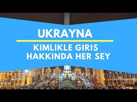 Ukrayna'ya Kimlikle Giriş Hakkında Her şey | Ukrayna/Kiev 🇺🇦