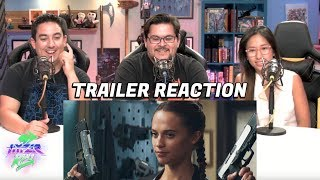 TOMB RAIDER - Official Trailer #1 Reaction