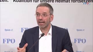 Herbert Kickl: Wir waren die treibende Kraft!