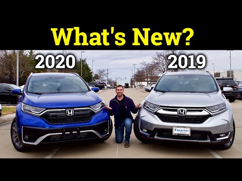 2020 Honda CR-V Vs. 2019 Honda CR-V | Here's What's Different With Each Trim!