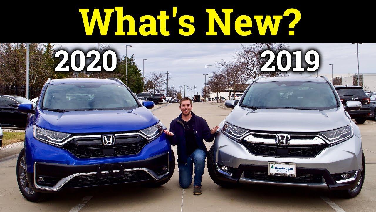 2020 Honda Cr V Vs 2019 Honda Cr V Here S What S Different With Each Trim Youtube