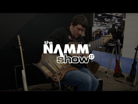 Jean Baudin Live at NAMM 2017 Demo of the Immerse Reverberator