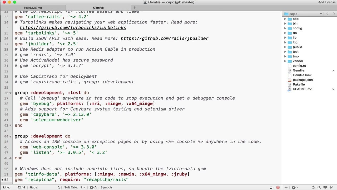 Integrating Google reCAPTCHA with Rails 5 1 App