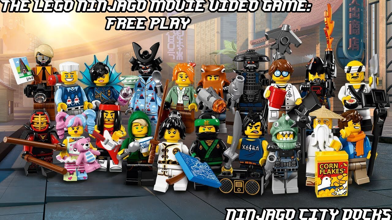 The Lego Ninjago Movie Video Game Ninjago City Docks Free Play