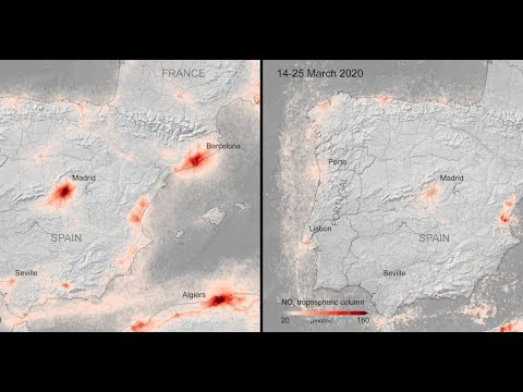 صور تكشف ما ألحقه فيروس كورونا بالكرة الأرضية    التلوث قل والانبعاثات انخفضت  - نشر قبل 11 ساعة