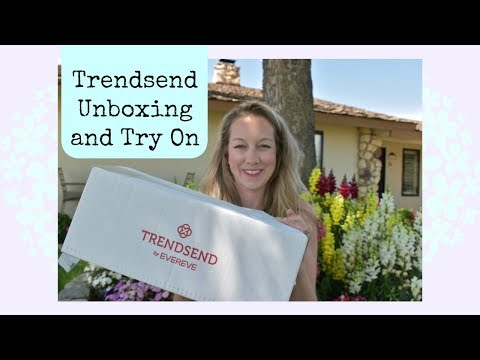 Trendsend  Evereve Unboxing and Try On