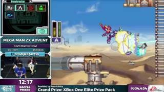 Mega Man ZX Advent by Gymfreak739 in 56:47 - SGDQ 2016 - Part 156