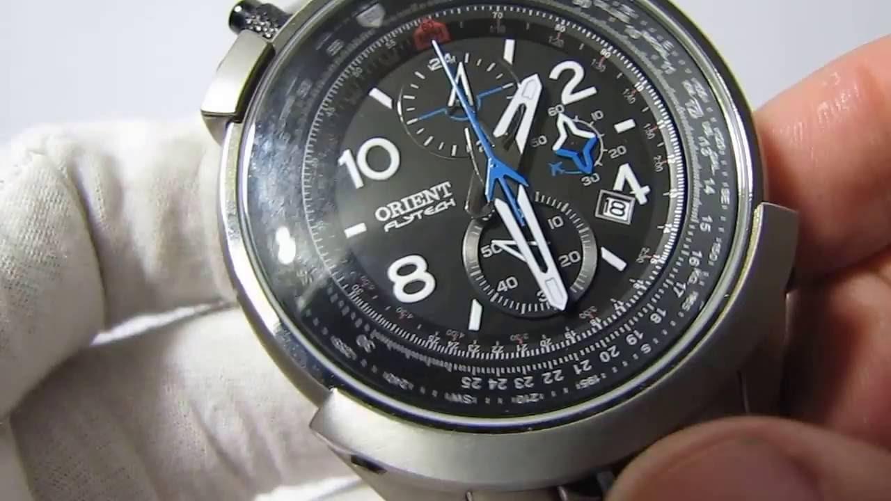 d102b95b84a Relógio Orient Flytech Titanium ref  MBTTC008 - Thauro Relógios -  www.thauro.com.br