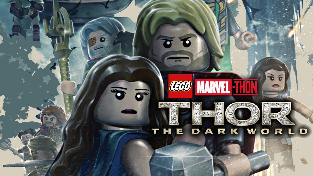 Thor The Dark World Lego Marvel Thon Youtube