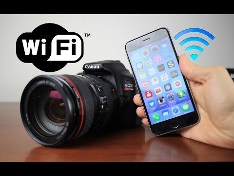 HOW TO CONNECT CANON 1500D  WITH SMART PHONE FOR CLICKING PICTURES...........